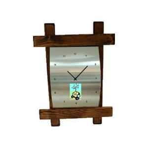 שעון קיר מאלומיניום
