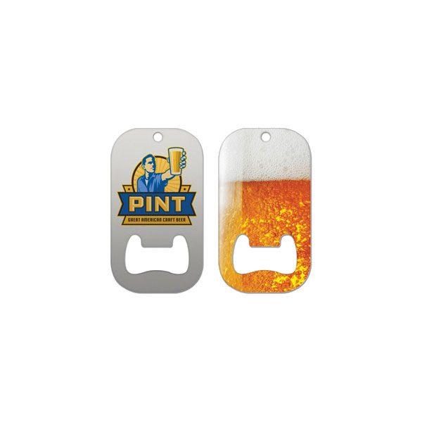 פותחן בירה ממותג ממתכת בהדפסה אישית לקידום מכירת
