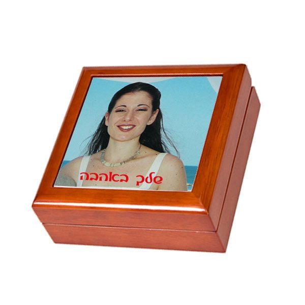 קופסה מהודרת לתכשיטים - מתנה לאישה אהובה