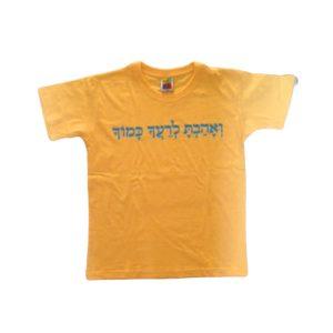 חולצה צבעונית לילדים
