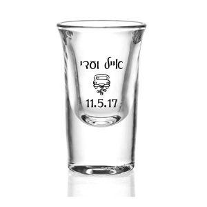 כוס צ'ייסר ממותג