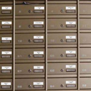 לוחיות לתיבת דואר – משלוח חינם